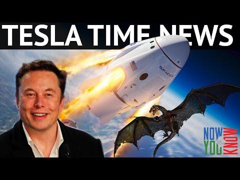 Tesla Time News - Dragons Are Real!