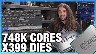 HW News - Threadripper 3 TDP, Epyc Supercomputer w/ 748,000 Cores, Aldi Gaming PC