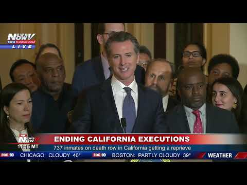 ENDING DEATH PENALTY: California Governor Gavin Newsom Ends Capital Punishment
