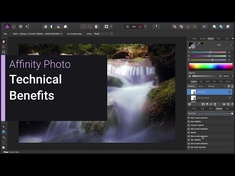Technical Benefits (Affinity Photo)