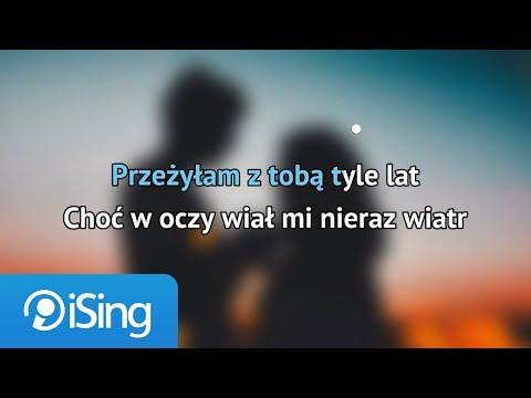 Krystyna Giżowska - Przeżyłam z tobą tyle lat (karaoke iSing)
