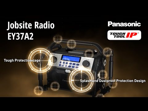 Panasonic's New Rugged Radio Is Designed To Take The Punishment Of Onsite And Outdoor Use