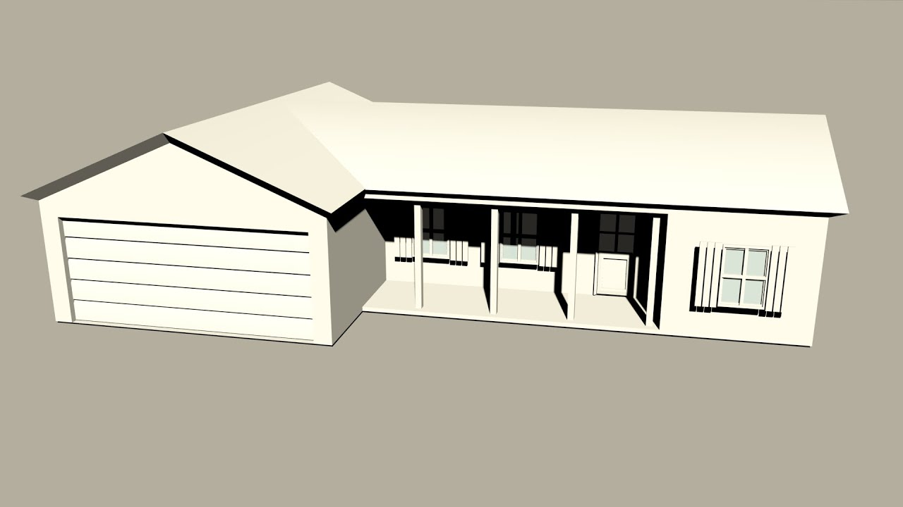 Maya 2014 tutorial how to model a basic low poly house for Classic house tutorial
