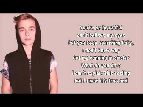 Johnny Orlando ( Right by your side lyrics)