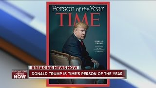 Time magazine Person of the Year is President-elect Donald Trump