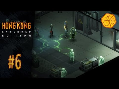 Never listen to the doc - Let's Play Shadowrun: Hong Kong - Extended Edition #6