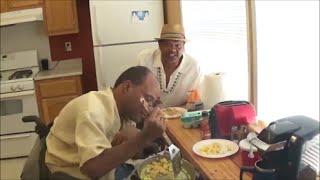 Kickin It In The Kitchen (scrambled Eggs & Shrimp Surprise)
