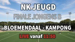 FINALE NK JEUGD: Bloemendaal JB1 – Kampong JB1