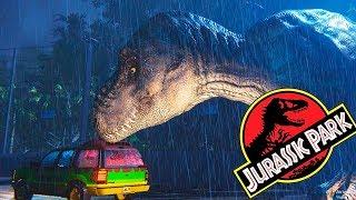 Прогулка с Тираннозавром Погрузись в Фильм Парк Юрского Периода
