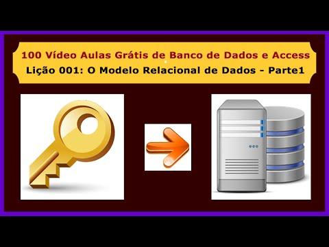 Lição 001 - Curso Gratuito de Access e Banco de Dados - O Modelo Relacional de Dados - Parte 1