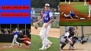 SEAN LYNCH #44, MONROE WOODBURY HIGH SCHOOL CLASS OF 2020 BASEBALL HIGHLIGHTS