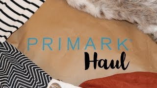Primark Haul and Try on - December 2015