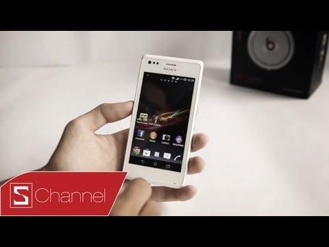 Schannel - Đánh giá chi tiết thiết kế, màn hình, camera Xperia M - CellphoneS