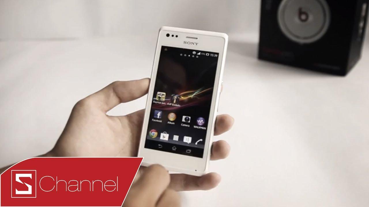 Schannel – Đánh giá chi tiết thiết kế, màn hình, camera Xperia M – CellphoneS