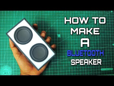 How To Make A Powerful And Portable Bluetooth Speaker