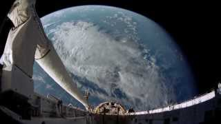 Bjork - Joga (Sasha Raskin remix). View on earth from space HD
