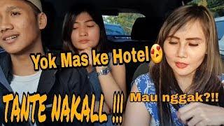 TANTE GENIT !! GAK JADI BAPER MALAH NGAJAK KE HOTEL | PRANK TAXI ONLINE 2