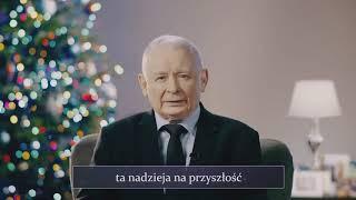 Życzenia Świąteczne Prezesa PiS, Wicepremiera Jarosława Kaczyńskiego.