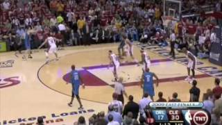 Lebron James Vs Magic -  Block, Dunk, And 3 Pointer