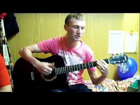 Пацан классно поёт под гитару!!!Шахунья!!!