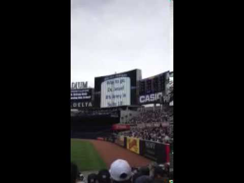 Luke Hughes @ Yankee game