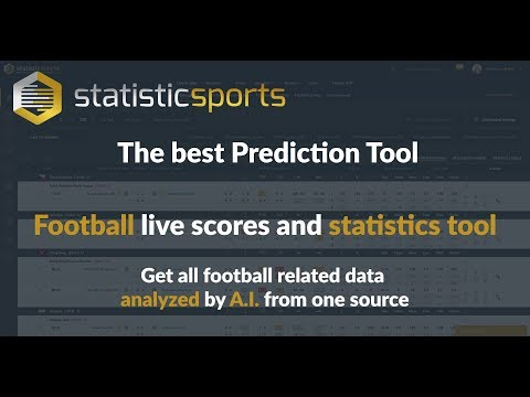 StatisticSports New Dashboard - The Best Prediction Tool