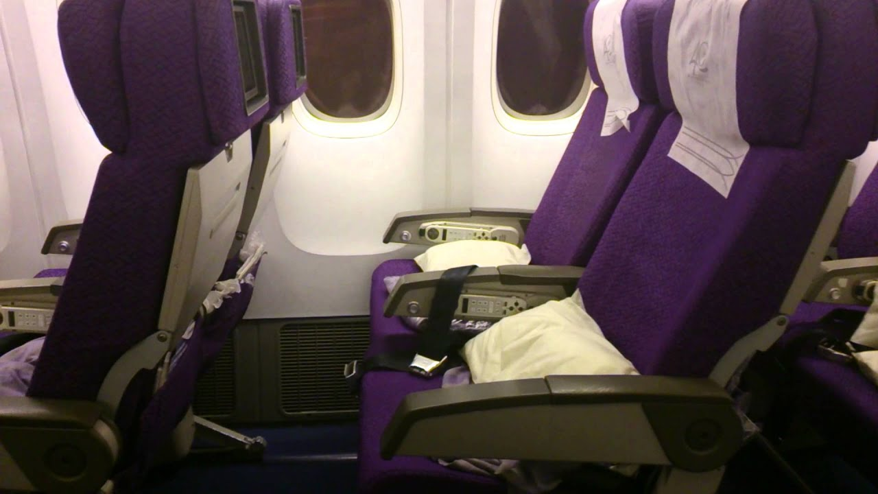 Malaysia Airlines Economy Class 777 200 Er Youtube