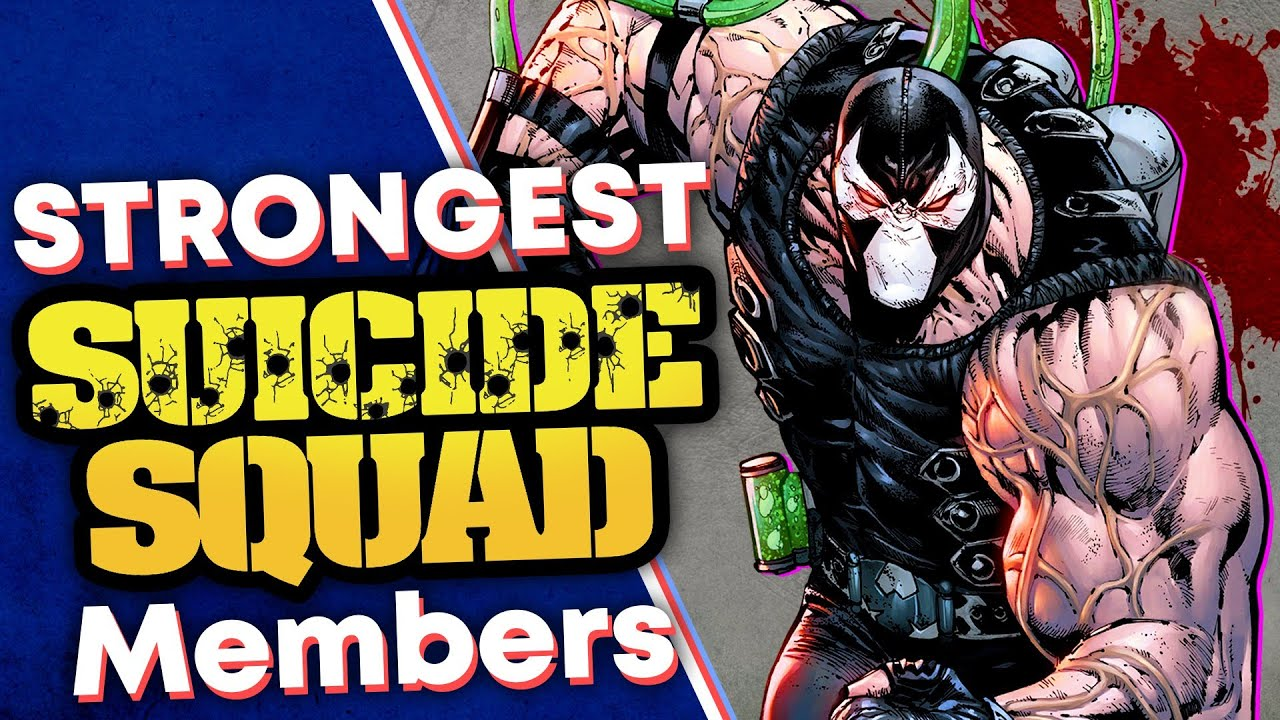 STRONGEST Members of the Suicide Squad!