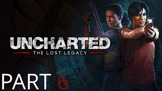Uncharted The Lost Legacy Gameplay Walkthrough Part 6 The Lost Legacy Shiva Light Puzzle Disk Puzzle
