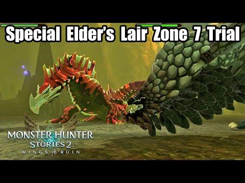 Monster Hunter Stories 2 - Post-Postgame SPECIAL Elder's Lair: Zone 7 Trial |