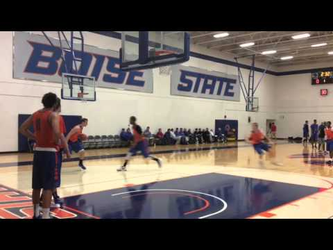 Boise State basketball practice highlights - Oct. 2, 2015