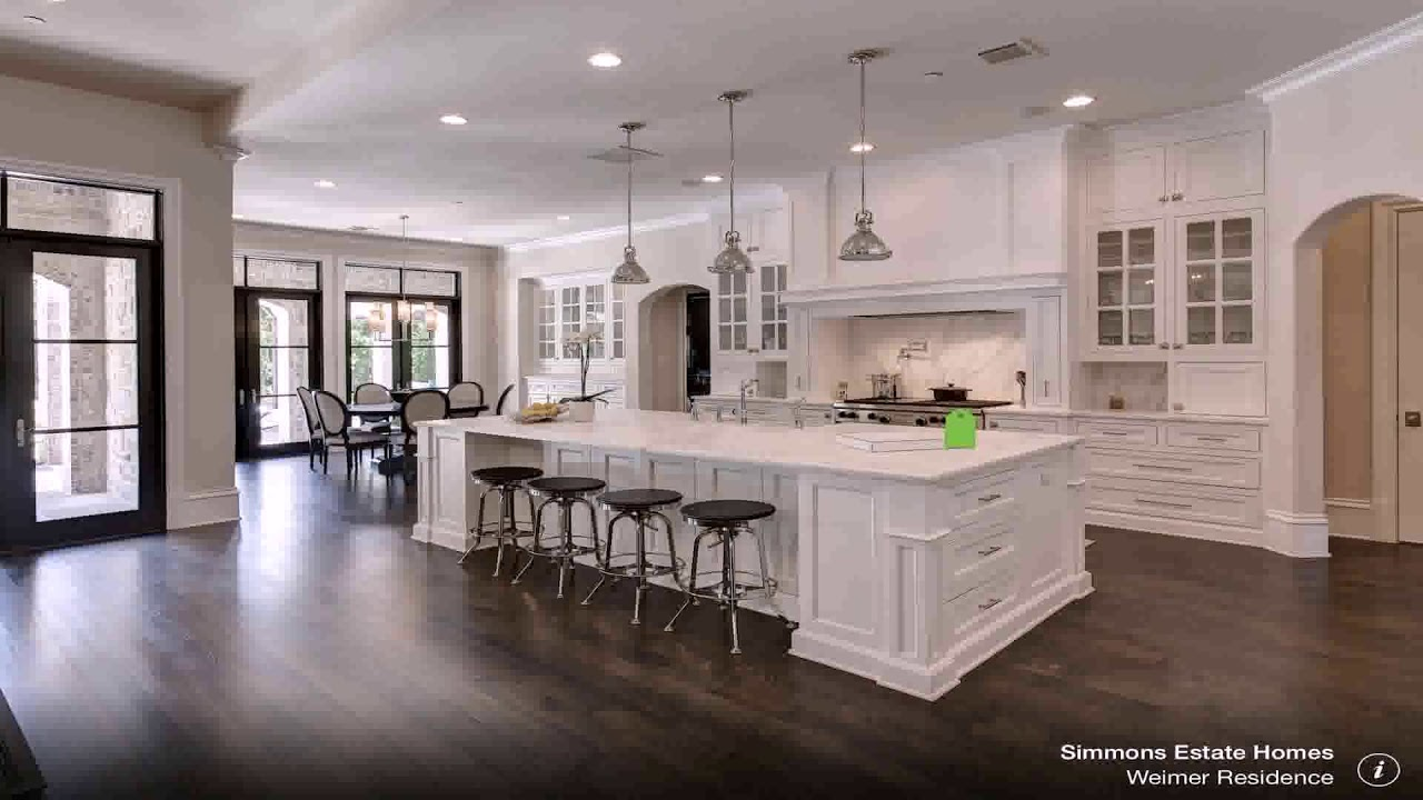 Kitchen White Cabinets Dark Wood Floors Gif Maker Daddygif Com See Description Youtube