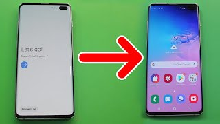 Samsung S10 Plus Frp Unlock/Bypass Google Account Lock Android 10