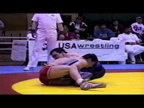 1995 World Cup: 90 kg Vitali Gizoev (RUS) vs. Alf Wurr (CAN)