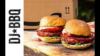 Juicy vegan beetroot burger - Ad
