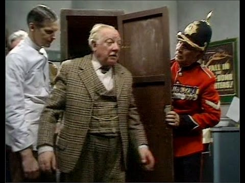 Dad's Army - My Brother And I - ... what floor is this?...