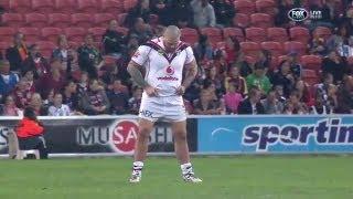 Un jugador de rugby orina en pleno partido
