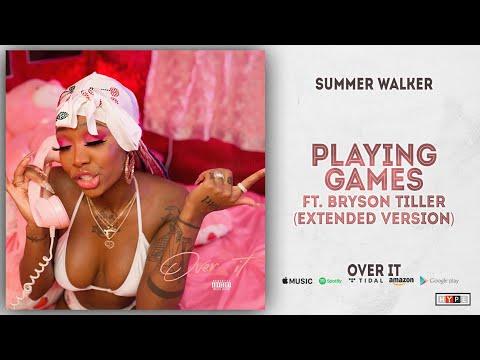 Summer Walker & Bryson Tiller – Playing Games [Extended Version] (Over It)