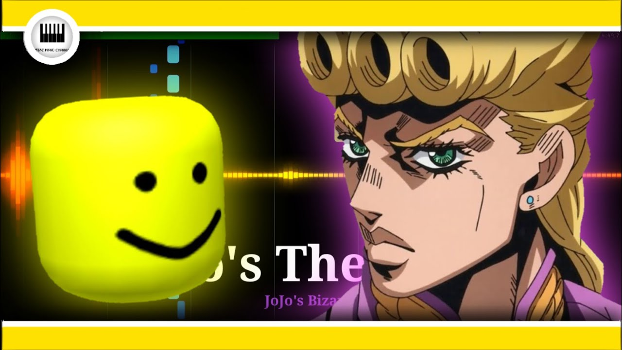 Giorno S Theme Roblox Oof Youtube