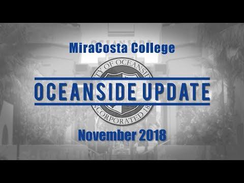 Oceanside Update November 2018 - MiraCosta College