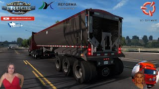 "American Truck Simulator (1.38)   Mac.Simizer Dump Custom Ownable Trailer by Renenate Volvo VNR by Galimin Redding California Team Reforma Sierra Nevada v2.2.24 [Best Map] Mega Resurces v2.1.12 Viva Mexico v2.5.7 by Hugoces Mexico Extremo v2.1.16 Trailer Jazzycat Chevy Step Van Pack AI Traffic v1.0 and Municipal Police Traffic Pack v1.0 FMOD ON and Open Windows Next-Gen Graphics USA New Summer Graphics/Weather V1.1 (1.38) by Grimes Test Gameplay ITA + DLC's & Mods http://www.modhub.us/american-truck-simulator-mods/mac-simizer-dump-custom-1-38/  SCS Software News Iberian Peninsula Spain and Portugal Map DLC Planner...2020 https://www.youtube.com/watch?v=NtKeP0c8W5s Euro Truck Simulator 2 Iveco S-Way 2020 https://www.youtube.com/watch?v=980Xdbz-cms&t=56s Euro Truck Simulator 2 MAN TGX 2020 v0.5 by HBB Store https://www.youtube.com/watch?v=HTd79w_JN4E  #TruckAtHome #covid19italia Euro Truck Simulator 2    Road to the Black Sea (DLC)    Beyond the Baltic Sea (DLC)   Vive la France (DLC)    Scandinavia (DLC)    Bella Italia (DLC)   Special Transport (DLC)   Cargo Bundle (DLC)   Vive la France (DLC)    Bella Italia (DLC)    Baltic Sea (DLC) Iberia (DLC)   American Truck Simulator New Mexico (DLC) Oregon (DLC) Washington (DLC) Utah (DLC) Idaho (DLC) Colorado (DLC)     I love you my friends Sexy truck driver test and gameplay ITA  Support me please thanks Support me economically at the mail vanelli.isabella@gmail.com  Roadhunter Trailers Heavy Cargo  http://roadhunter-z3d.de.tl/ SCS Software Merchandise E-Shop https://eshop.scssoft.com/  Euro Truck Simulator 2 http://store.steampowered.com/app/227... SCS software blog  http://blog.scssoft.com/  Specifiche hardware del mio PC: Intel I5 6600k 3,5ghz Dissipatore Cooler Master RR-TX3E  32GB DDR4 Memoria Kingston hyperX Fury MSI GeForce GTX 1660 ARMOR OC 6GB GDDR5 Asus Maximus VIII Ranger Gaming Cooler master Gx750 SanDisk SSD PLUS 240GB  HDD WD Blue 3.5"" 64mb SATA III 1TB Corsair Mid Tower Atx Carbide Spec-03 Xbox 360 Controller Windows 10 pro 64bit"