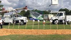 Groundbreaking for FWB's new public works complex
