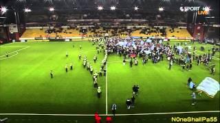 Elfsborg - Malmö FF,  Svenska Mästare 2013, Planinvasion! 28-10-2013