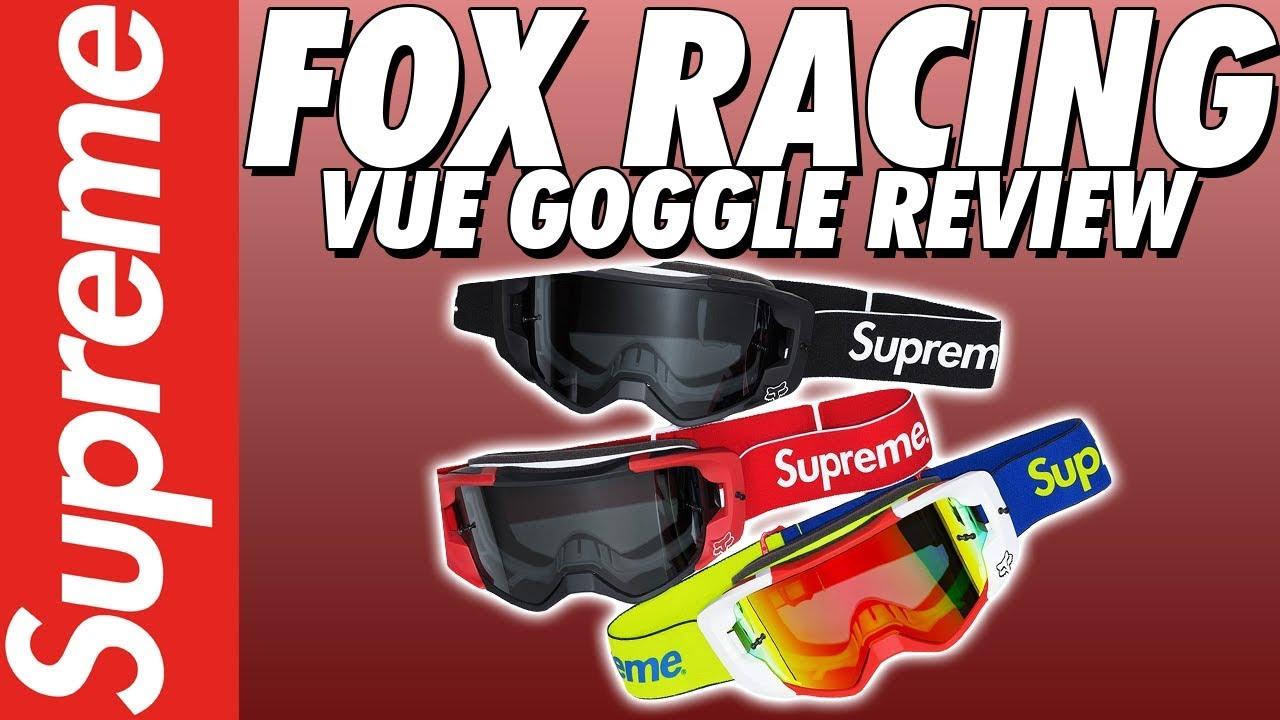 52fd937c5056 SUPREME x FOX RACING GOGGLE REVIEW! - YouTube