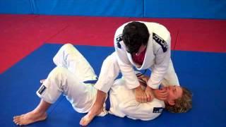 Triangle from mount Unity Jiu-Jitsu