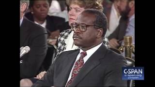 October 11, 1991: Clarence Thomas Full Opening Statement (C-SPAN)