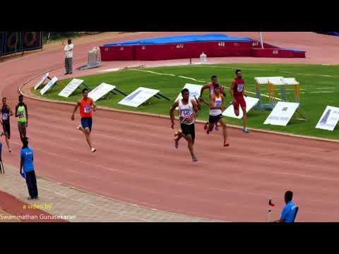 JUNIOR BOY'S  200m  RUN FINAL. 16th FED CUP NATIONAL JR ATHLETICS CHAMPIONSHIPS 2018