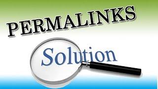 How to Fix Broken Permalinks in Wordpress