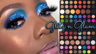 """Glitz n Glam Using IOC Cosmetics 3D Glitter """"Ocean Water"""""""
