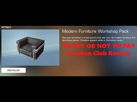 Modern Furniture Workshop to pay or not to pay: modern furniture workshop (fallout 4